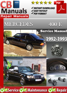 Mercedes 400E 1992-1993 Service Repair Manual | eBooks | Automotive