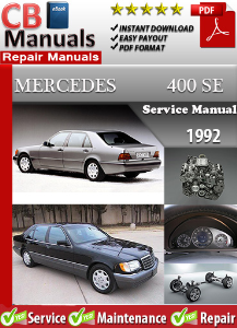 Mercedes 400SE 1992 Service Repair Manual | eBooks | Automotive