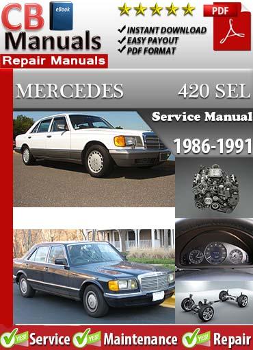 Mercedes-Benz Repair Manuals - Mercedes Service