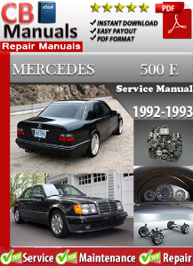 Mercedes 500E 1992-1993 Service Repair Manual | eBooks | Automotive