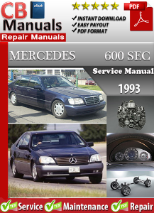 Mercedes 600SEC 1993 Service Repair Manual | eBooks | Automotive