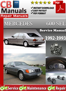 Mercedes 600SEL 1992-1993 Service Repair Manual | eBooks | Automotive