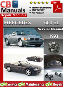 Mercedes 600SL 1993 Service Repair Manual   eBooks   Automotive