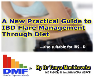 ibd flare management through diet