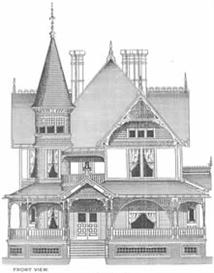 Cottage Souvenir #2 Victorian mail-order houses by George Barber, 1891 and George Barber Homes Photos | eBooks | Architecture