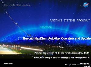 nasa airspace systems program