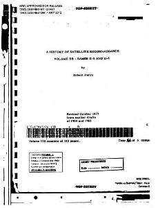 history of satellite reconnaissance volume 2b samos-e-5 and e-6