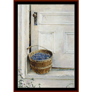 Split Ash Basket - Americana cross stitch pattern by Cross Stitch Collectibles | Crafting | Cross-Stitch | Wall Hangings