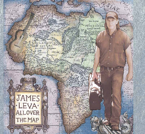 CD-253 James Leva All Over the Map | Music | Blues
