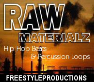 raw materialz: hip hop beats & percussion loops (.wav)