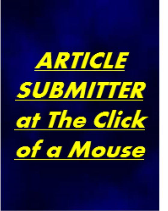 First Additional product image for - Submit Your Article at The Click of The Mouse