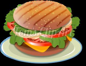 toms clipart - cheeseburger