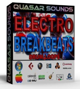 electro breakbeats loops 130 bpm   +  wave / midi +