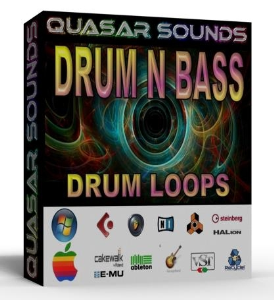 Drum N Bass Drum Loops Wave / Midi | Music | Soundbanks