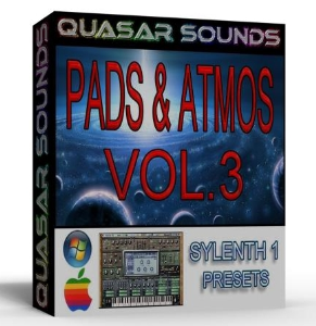 PADS AND ATMOS VOL.3 sylenth1 presets | Music | Soundbanks