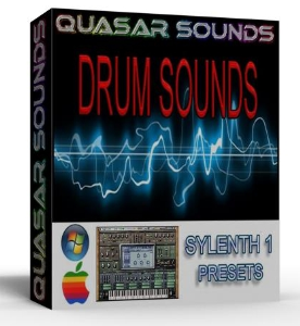 DRUM SOUNDS for sylenth1 kicks snare hats toms presets | Music | Soundbanks