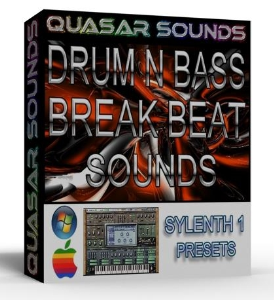 DRUM N BASS – DUB STEP – BREAKS sylenth1 vsti presets | Music | Soundbanks