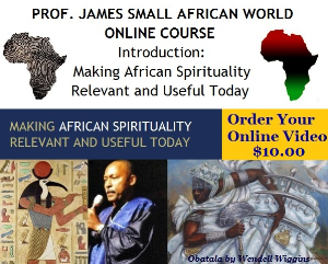 making african spirituality relevant and useful today: intro