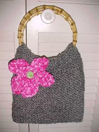 Whimsy Wooden Handle Purse | Other Files | Arts and Crafts