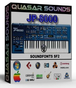 Roland Jp 8000 Vol.2 Samples Wave Kontakt Reason Logic | Music | Soundbanks