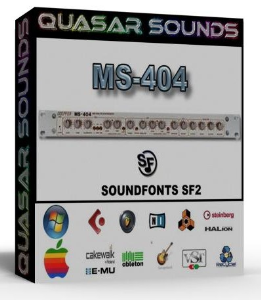 Doepfer Ms 404 Samples Wave Kontakt Reason Logic Halion | Music | Soundbanks
