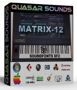 Oberheim Matrix 12 Samples Wave Kontakt Reason Logic Halion | Music | Soundbanks