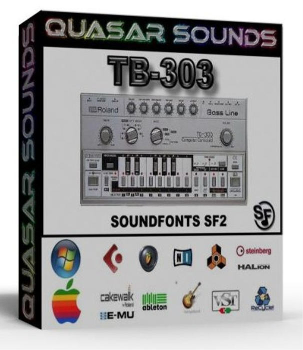 First Additional product image for - Roland Tb-303 Samples – Wave Kontakt Reason Logic Halion