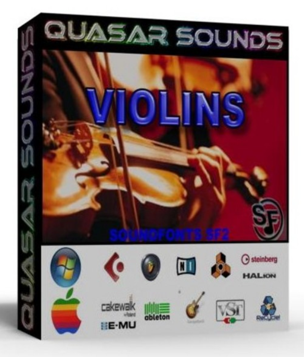 First Additional product image for - Violins Instrument Samples – Wave Kontakt Reason Logic