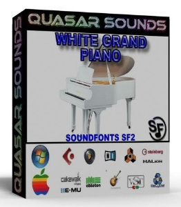 White Grand Piano Samples – Wave Kontakt Reason Logic | Music | Soundbanks