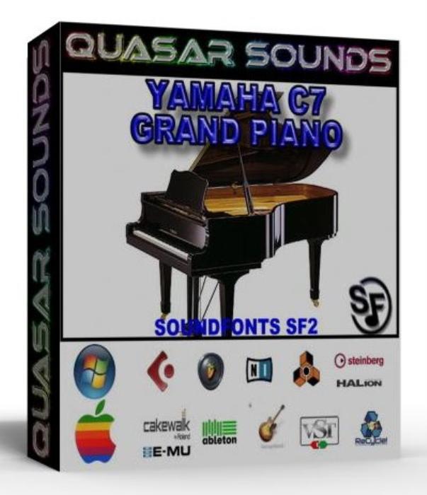 First Additional product image for - Yamaha C7 Grand Piano – Wave Kontakt Reason Logic