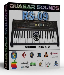 roland rs-09 samples wave kontakt reason logic halion