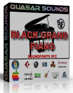 Black Grand Piano Samples – Wav Kontakt Reason Logic | Music | Soundbanks