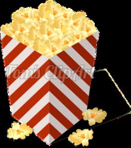 toms clipart - popcorn box 01