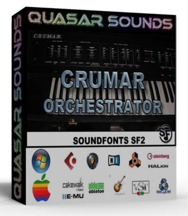 First Additional product image for - Crumar Orchestrator Samples Wave Kontakt Reason Logic