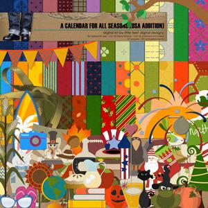 a calendar for all seasons (usa version)