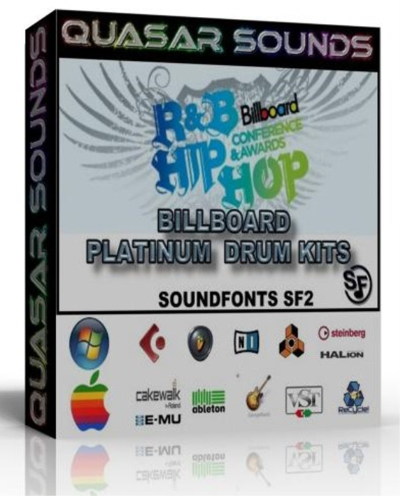 First Additional product image for - Hip Hop & R&B Billboard Charts Platinum Drum Kits – Wave