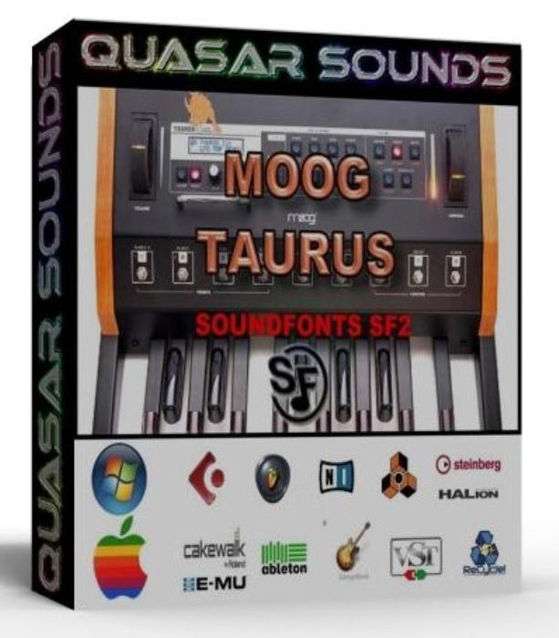 First Additional product image for - Moog Taurus Samples Wave Kontakt Reason Logic Halion
