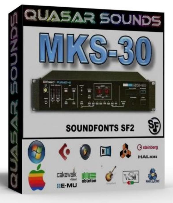 First Additional product image for - Roland Mks 30 Samples Wave Kontakt Reason Logic Halion