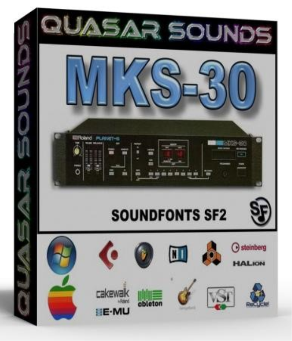 First Additional product image for - Roland Mks 30 Samples Wave Kontakt Reason Logic Halion