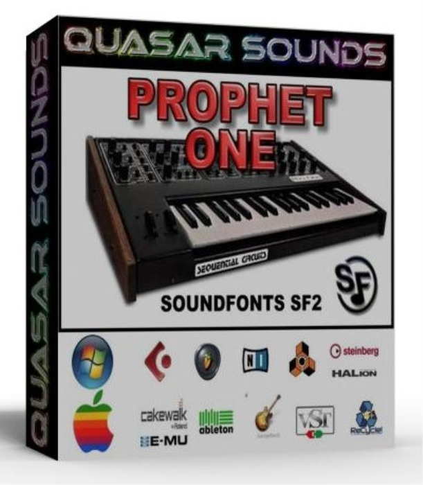 First Additional product image for - Prophet One Samples Wave Kontakt Reason Logic Halion