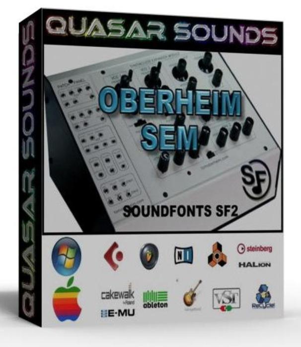 First Additional product image for - Oberheim Sem Samples Wave Kontakt Reason Logic Halion