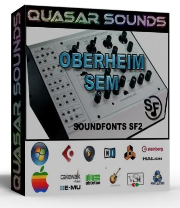 First Additional product image for - Oberheim Sem Samples Wave Kontakt Reason Logic Halion
