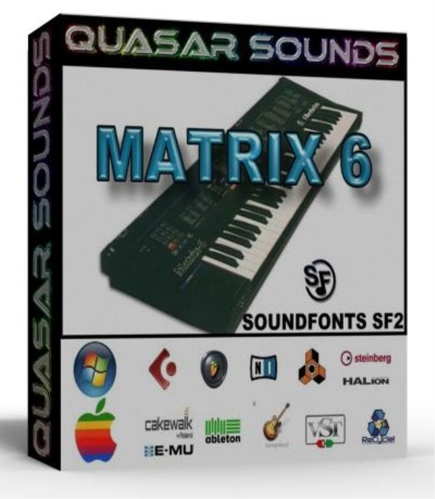 First Additional product image for - Oberheim Matrix 6 Samples Wave Kontakt Reason Logic Halion