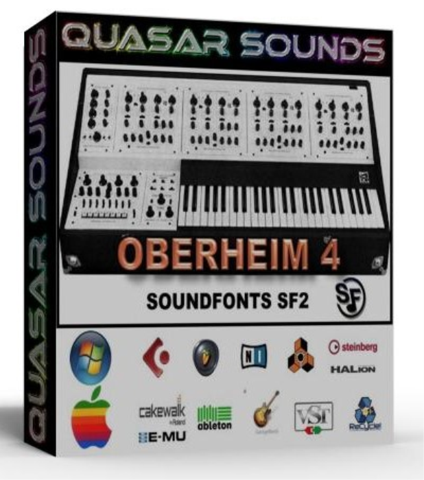 First Additional product image for - Oberheim 4 Vox Samples Wave Kontakt Reason Logic Halion