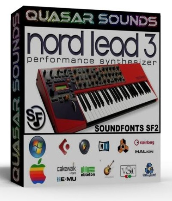 First Additional product image for - Clavia Nord Lead 3 Samples Wave Kontakt Reason Logic Halion
