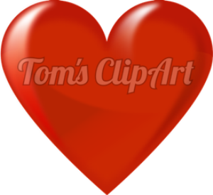 toms clipart - heart