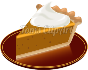 toms clipart - pumpkin pie 01