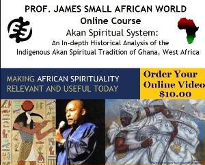 prof james small online course akan spiritual system -prof james small online course