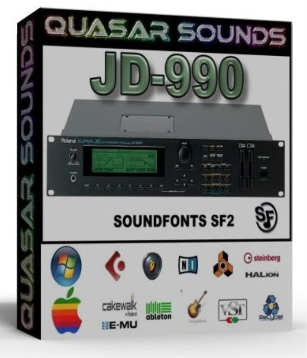 First Additional product image for - Roland Jd-990 Samples Wave Kontakt Reason Logic Halion