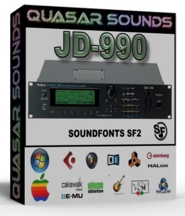 First Additional product image for - Roland Jd-990 Samples Wave Kontakt Reason Logic Halion